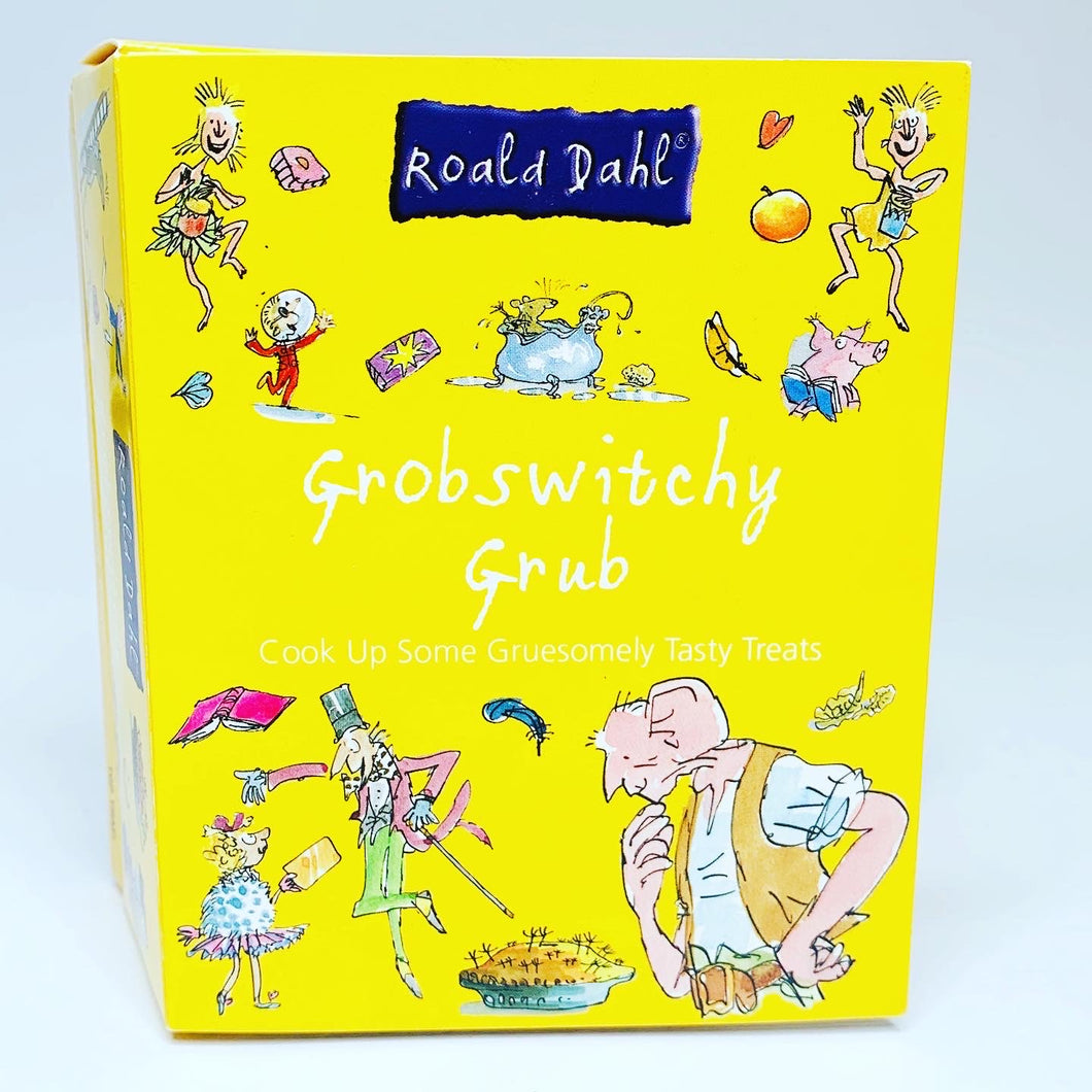 Roald Dahl's Grobswitchy Grub Mini Activity