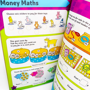 Leap Ahead Workbook: Maths Ages 5-6