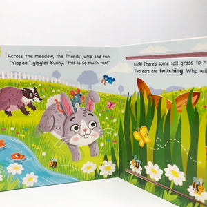 Lift the Flap: Bunny and Friends