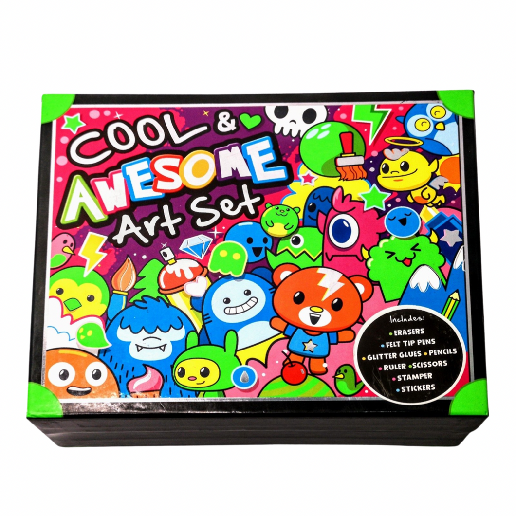Cool & Awesome Art Set