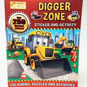 Digger Zone Sticker and Activity Book