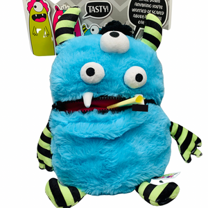 Worry Monster Plush: Blue and Green