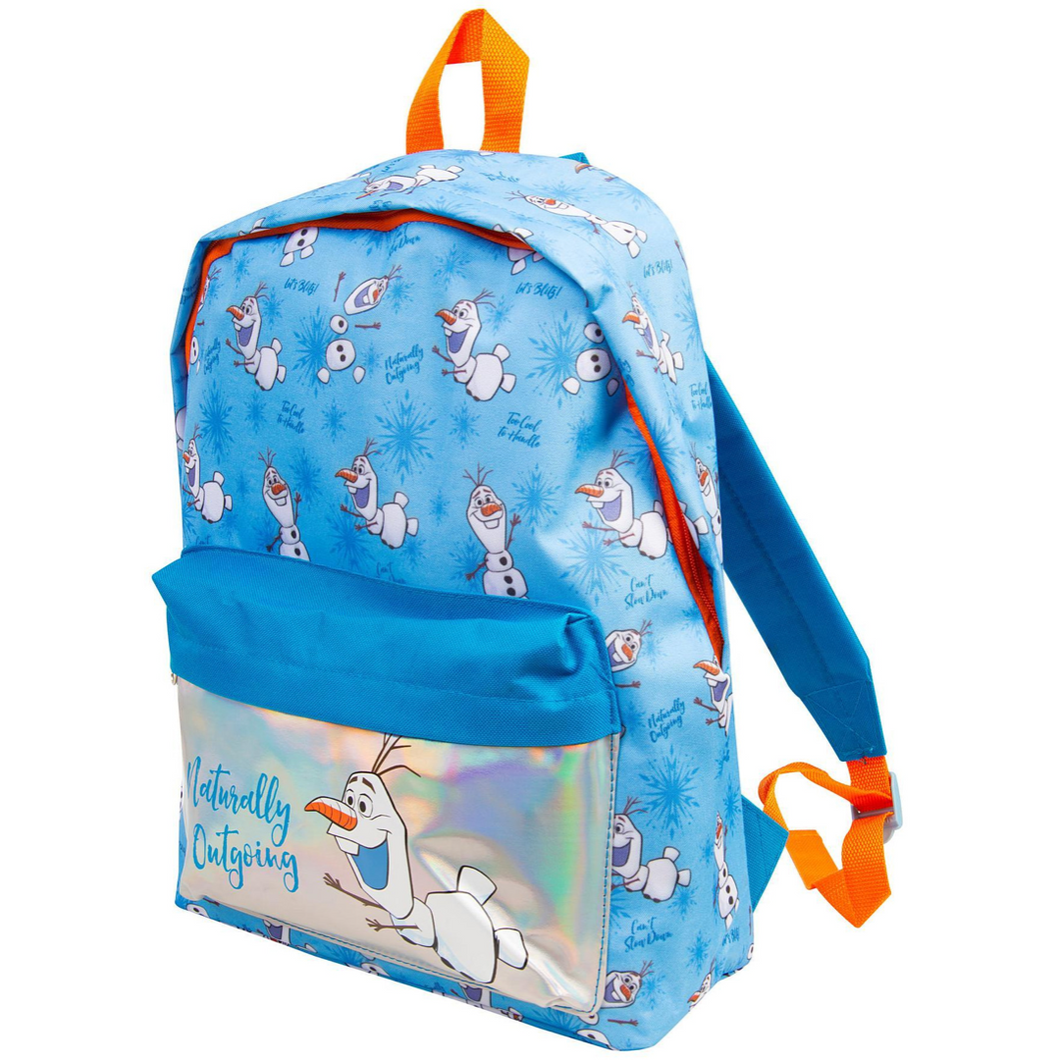 Frozen 2's Naturally Outgoing Olaf Backpack