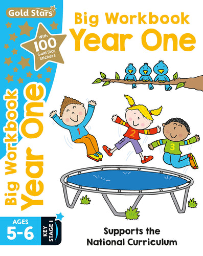 Gold Stars: Big Workbook Year One Ages 5-6