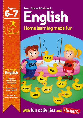 Leap Ahead Workbook: English Ages 6-7