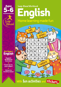Leap Ahead Workbook: English Ages 5-6