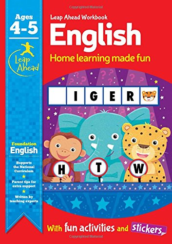Leap Ahead Workbook: English Ages 4-5