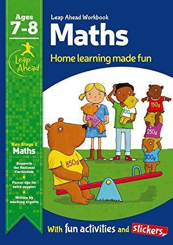 Leap Ahead Workbook: Maths Ages 7-8