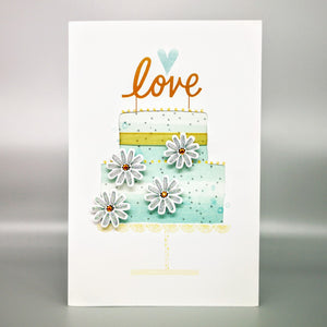 Hallmark: Wedding Cake Deluxe Card