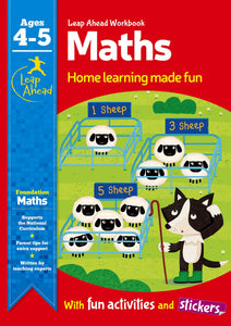 Leap Ahead Workbook: Maths Ages 4-5
