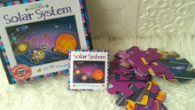 Load image into Gallery viewer, Solar System Book and Jigsaw Puzzle (48 pieces)