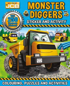 Monster Diggers Sticker and Activity