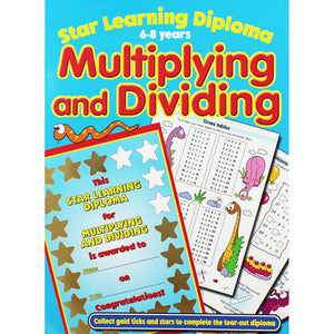 Star Learning Diploma: Multiplying and Dividing (6-8 years)