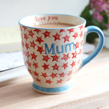 Load image into Gallery viewer, Sass & Belle - Bohemian Stars Mum Mug