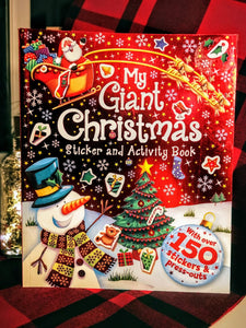 My Giant Christmas Sticker and Activity Book