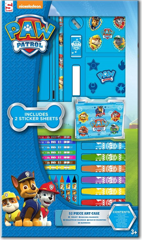 Nickelodeon's Paw Patrol: 52 Piece Art Case