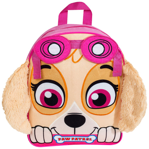 Paw Patrol Skye Embroidered Front Backpack