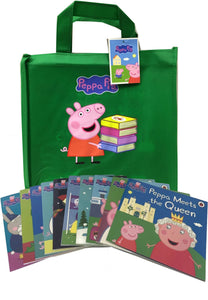 Peppa Pig Collection: 10 books and collector's bag