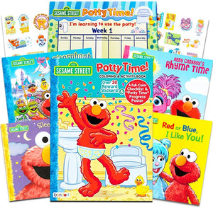Sesame Street Potty Training Reward Pack