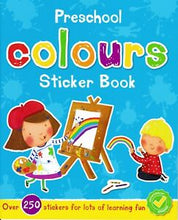 Load image into Gallery viewer, Preschool Colours Sticker Book