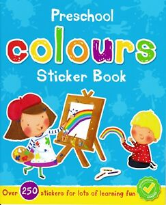 Preschool Colours Sticker Book