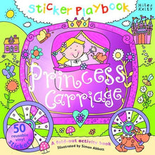 Load image into Gallery viewer, Sticker Playbook Princess Carriage