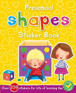 Preschool Shapes Sticker Book