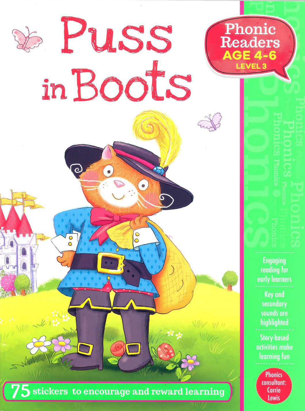 Puss in Boots (Phonic Readers: Level 3)