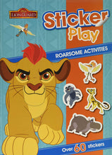 Load image into Gallery viewer, Disney Sticker Play: The Lion Guard's Roarsome Activities