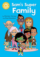 Load image into Gallery viewer, Sam's Super Family (Yellow 3)