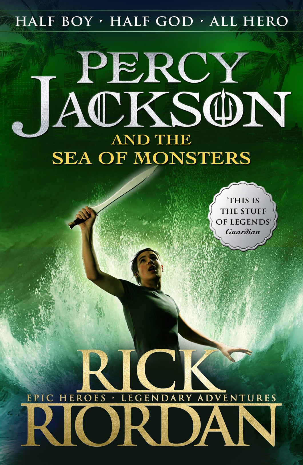 Percy Jackson and the Sea of Monsters (#2)