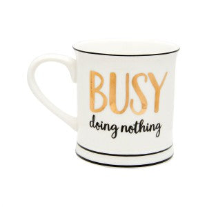 Sass & Belle - Busy Doing Nothing Mug