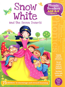 Snow White and the Seven Dwarfs (Phonic Readers: Level 2)