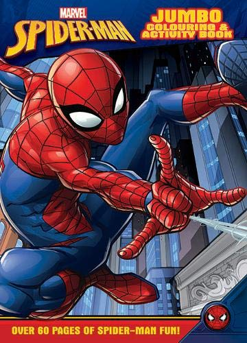 Marvel Spider-Man Jumbo Colouring & Activity Book