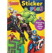 Load image into Gallery viewer, Marvel Avengers Sticker Play