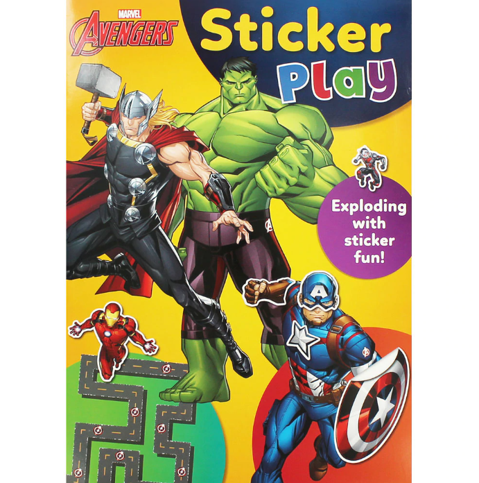 Marvel Avengers Sticker Play