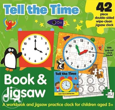 Tell the Time: Book & Jigsaw