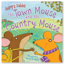Load image into Gallery viewer, Aesop's Fables: The Town Mouse and the Country Mouse