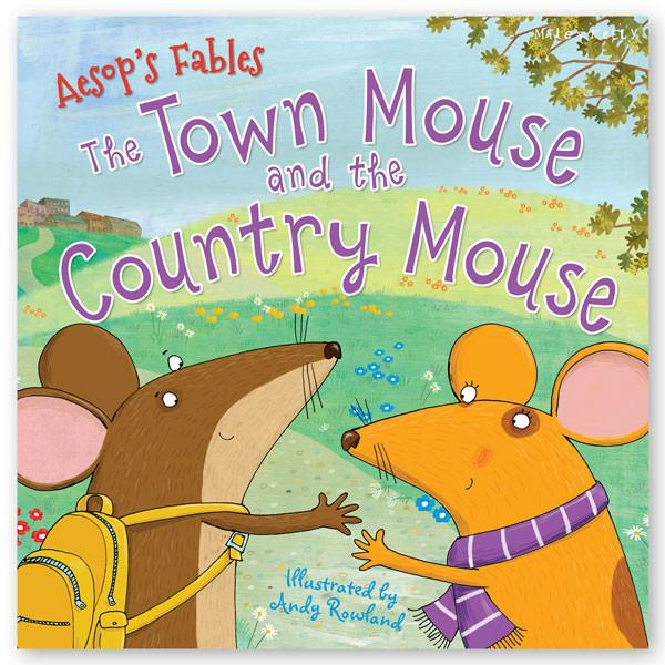 Aesop's Fables: The Town Mouse and the Country Mouse