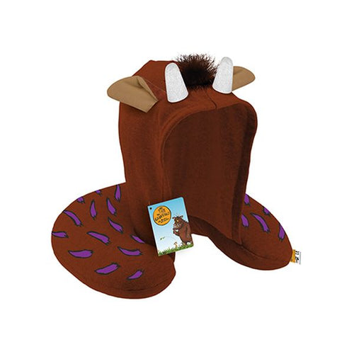 Gruffalo Neck Pillow with Hood