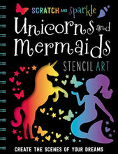 Load image into Gallery viewer, Scratch and Sparkle: Unicorns and Mermaids