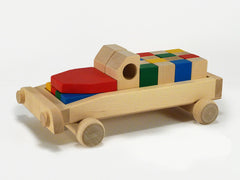 CAR OF BLOCKS