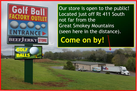 Golf Ball Factory Outlet - Maryville, Tennessee