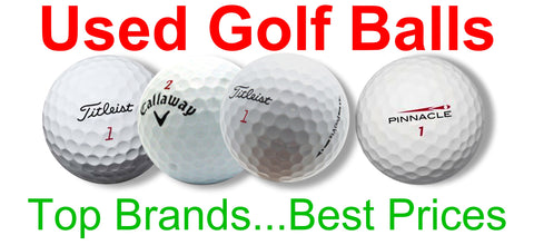 Used Golf Balls Top Brands Best Prices