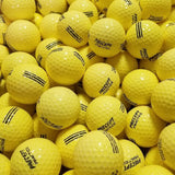 Bridgestone Precept Yellow Used Golf Balls A-B Grade (4545867939922) (4964490182738) (4964491788370)