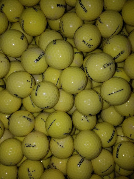 Titleist NXT Tour Yellow Practice Used Golf Balls B Grade (4508721905746)