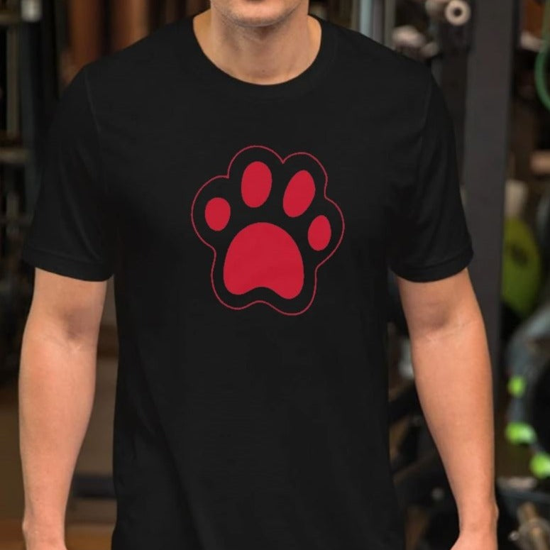 Cat Paw Funny T-Shirt | Dog Paw Funny Shirt-Cat and Dog T-Shirts-Cat and Dog T-Shirts
