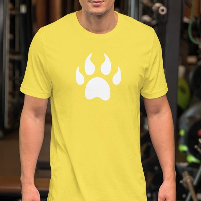 PAW Shirt Short-Sleeve Unisex T-Shirt-Cat and Dog T-Shirts-Cat and Dog T-Shirts