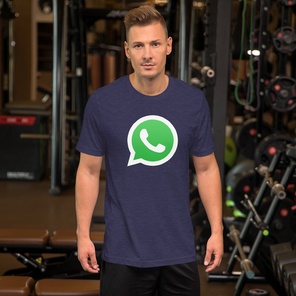 Whatsapp Social Media Mobile Messaging App T Shirt-Cat and Dog T-Shirts-Cat and Dog T-Shirts