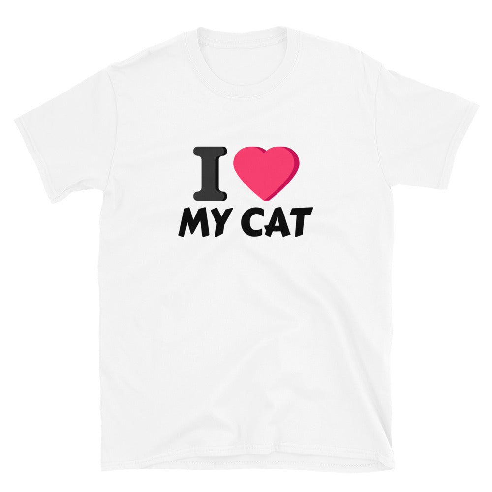 i love my Cat Shirt | Cat Mom-Cat and Dog T-Shirts-Cat and Dog T-Shirts